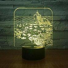 KAIYED 3D Nachtlicht Plug In USB Nachtlicht