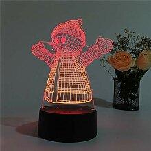 KAIYED Dekorative Tischlampe Weihnachten Neuheit