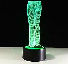 KAIYED Nachtlicht USB 3D Lampe nachtlicht Mini