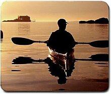 KAJAK Kayaker Kayaking groß Mousepad Mauspad tolle Geschenkidee