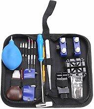 Kakiyi 124pcs Uhr-Taktgeber-Reparatur-Werkzeug-Set