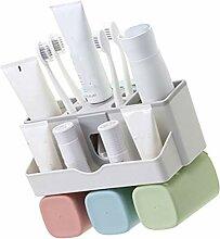 Kakiyi 4 in 1 Zahnbürstenhalter Set automatische