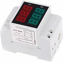 Kakiyi D52-2042 DIN RAIL Voltmeter Amperemeter