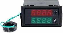 Kakiyi DL69-2042 AC Digital Voltmeter Amperemeter