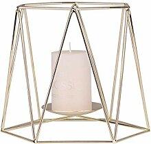 Kakiyi Geometrische Eisen Kerzenständer