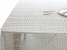 Kakiyi White Lace Tischdecke Hochzeitsdeko