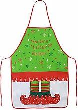 KAKOO Lustig Kochen Schürze im Weihnachten Elfen