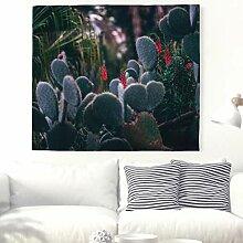 Kaktus Pflanzen Wandteppich Natur Landschaft