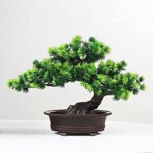 Kalaok Künstlicher Topfbaum, Bonsai, Kunstpflanze