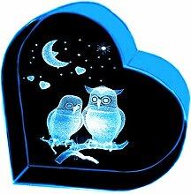 Kaltner Präsente Geschenkidee – Herz aus Glas: