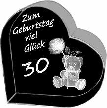 Kaltner Präsente Geschenkidee - Herz aus Glas:
