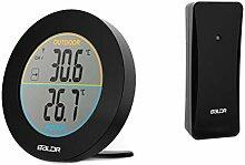 Kalttoy Funk-Thermometer für Innen- und