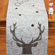Kamaca Filz Tischläufer Merry Christmas mit