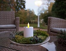 Kamaca LED SOLAR Kerze TEELICHT Laterne mit