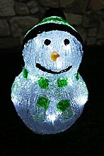Kamaca Outdoor LED SCHNEEMANN aus Acrylglas mit 20