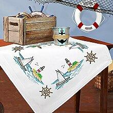 Kamaca Stickpackung Tischdecke SEGELBOOT und