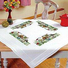 Kamaca Stickpackung Tischdecke Störche auf dem