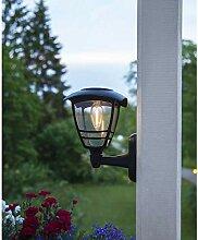 Kamaca Wetterfeste LED SOLAR Wandleuchte