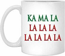 Kamala Kaffeetasse, Kamala Harris Weihnachtstasse,