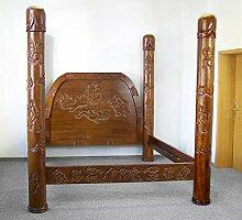 Kamasutra Bett 200 x 200 Doppelbett Holz Erotik