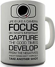 Kamera, Geschenkidee, witziges Design, für Tee, Kaffee, Tasse Office