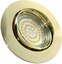 Kamilux 1er Set 60er SMD LED Einbaustrahler Herry
