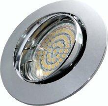 Kamilux 4er Set 60er SMD LED Einbaustrahler Herry