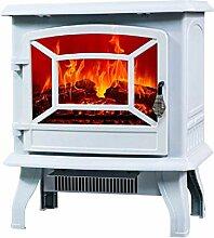 Kamin Elektroherd Heizung mit 3D Flammeffekt 1400W