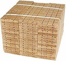Kaminanzünder 2520 Stück Holz & Wachs