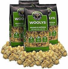 Kaminanzünder aus Holzwolle und Wachs 10kg /