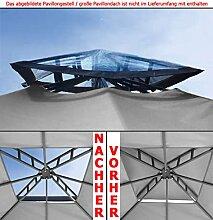 Kamindach TRANSPARENT durchsichtig Pavillon Dach Ersatzdach PE wasserdicht NEU