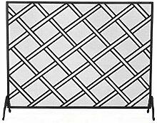 KaminFunkenschutz Single Panel Home Wohnzimmer