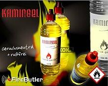 Kamingel Feuergel f. Gelbrenner/Feuertöpfe 1 Liter