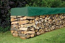 Kaminholz Schutzhülle 600x150cm Brennholz Abdeckung Holz Plane Abdeckplane