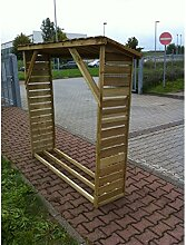 Kaminholzregal Brennholzregal Holzregal Holzlager Regal für ca 2 m³ Brennholz