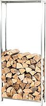 Kaminholzständer Forest-edelstahl-100x45 cm