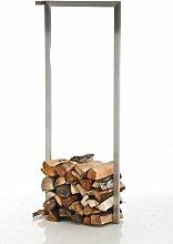 Kaminholzständer für die Wand-40x100