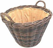 Kaminkorb, Holzkorb, Erntekorb aus Boondot