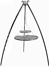 KAMINLICHT CookKing Schwenkgrill Tripod 200 cm,