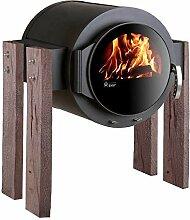 Kaminofen Kanuk® Stand Wood Eiche rustikal