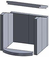 Kaminofen Vermiculiteplatten passend für Hark 40