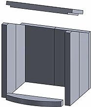 Kaminofen Vermiculiteplatten passend für Hark