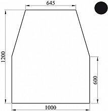 Kaminoflam Funkenschutzplatte Metall 6-eckig -