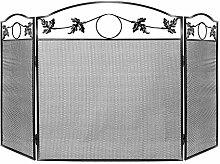 Kaminschutzgitter aus Schmiedeeisen, für den