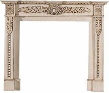 Kaminumrandung Renee Antique White, 150 × 23 ×