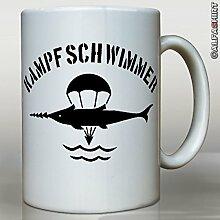 Kampfschwimmer Bundeswehr Marine Taucher - Tasse Becher Kaffee #1584