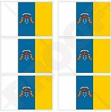 KANARISCHE INSELN Staatliche Flagge Spanien