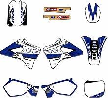 KANCK Motocross-Aufkleber Motorrad-Grafiken HINTER