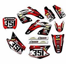 KANCK Motocross-Aufkleber Motorrad-Hintergründe