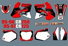 KANCK Motocross-Aufkleber Motorrad-Team
